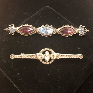 Set of 2 1928 Broaches